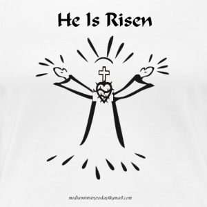 PNG he is risen - Women's Premium T-Shirt
