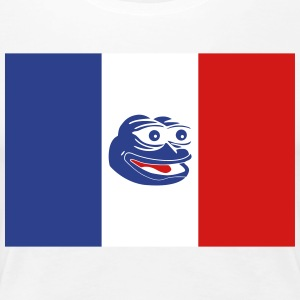 French Pepe the Frog - Women's Premium T-Shirt
