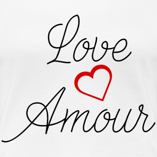 Love Amour - Women's Premium T-Shirt