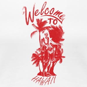 welcome_to_hawaii_red - Women's Premium T-Shirt