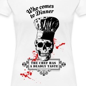 Who comes to Diner - The chef has a deadly taste - Women's Premium T-Shirt