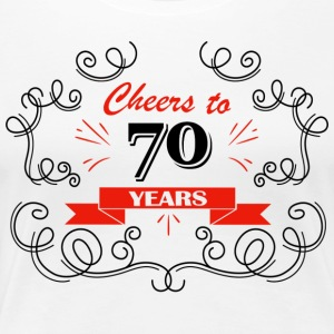 Cheers to 70 years - Women's Premium T-Shirt
