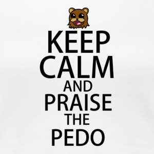 Praise The Pedo - Women's Premium T-Shirt