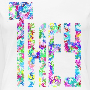They/Them/Their Pattern They - Women's Premium T-Shirt