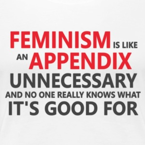 Feminism is ultra unnecessary - Women's Premium T-Shirt