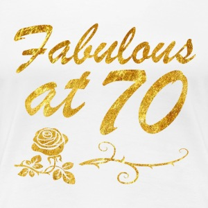 Fabulous at 70 years - Women's Premium T-Shirt