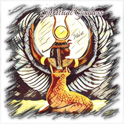 Spiritual Goddess Ma'at - Women's Premium T-Shirt