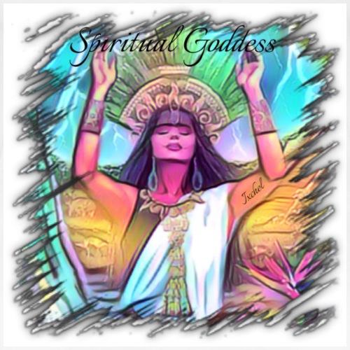 Spiritual Goddess Ixchel - Women's Premium T-Shirt