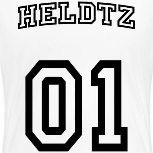 HELDTZ #1 - Women's Premium T-Shirt