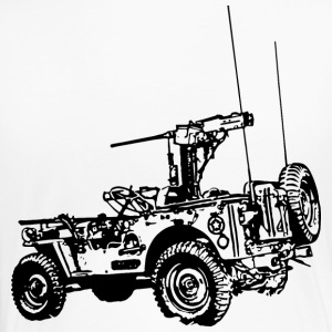 Army_Jeep_Black - Women's Premium T-Shirt
