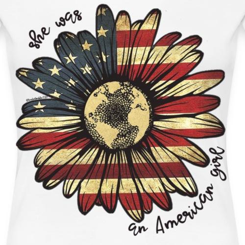 American Girl - Women's Premium T-Shirt