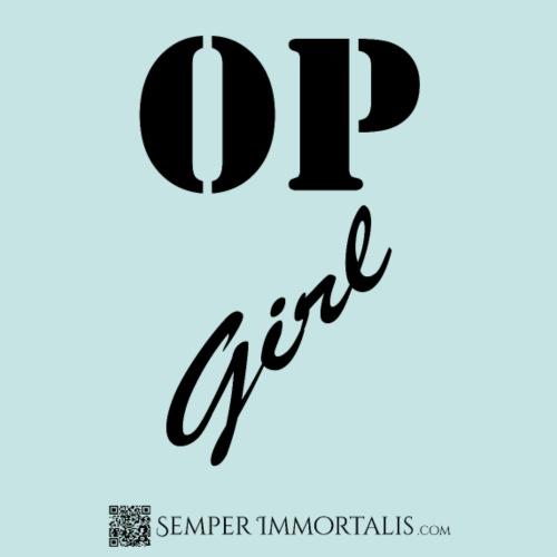 OP Girl (black) - Women's Premium T-Shirt
