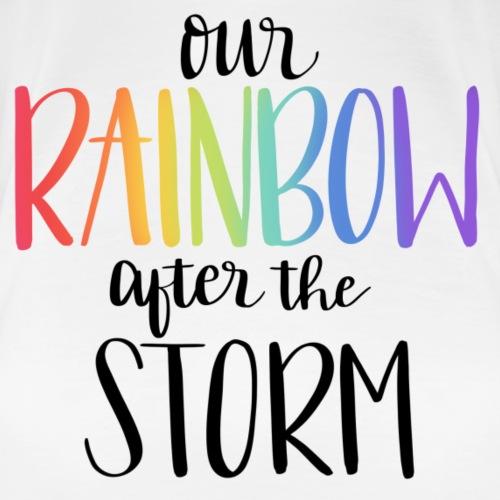 Rainbow after the Storm - Women's Premium T-Shirt