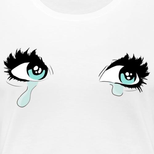 Yeux Bleus - Women's Premium T-Shirt