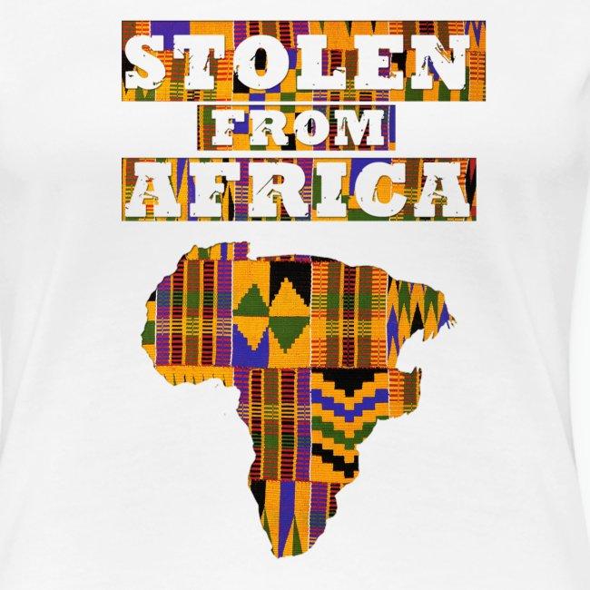 STOLEN FROM AFRICA Kente