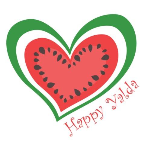 Happy Yalda Watermelon - Women's Premium T-Shirt