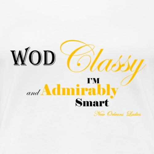 ClassyNOLA - Women's Premium T-Shirt