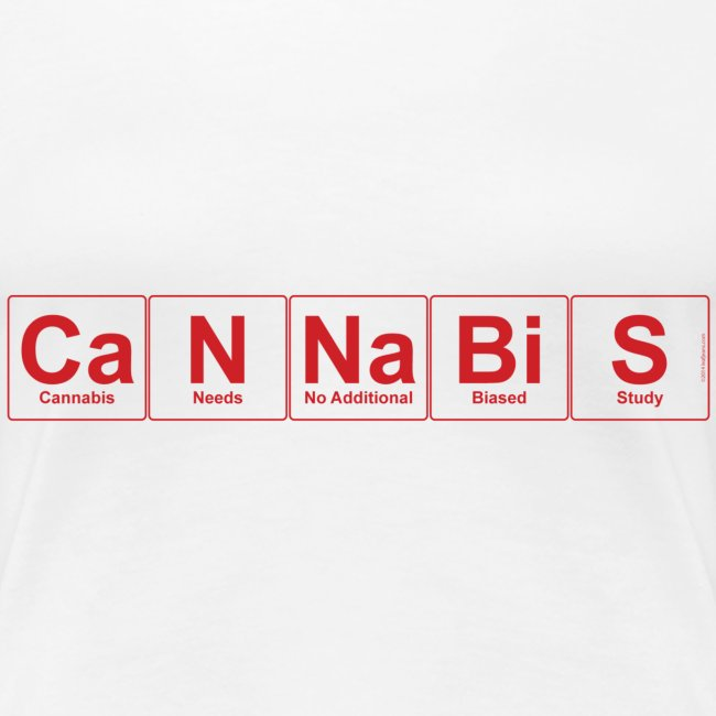 Periodic Cannabis Red/White