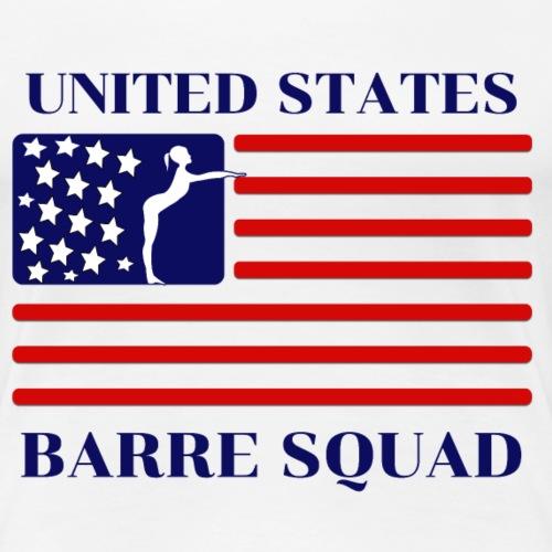 United States Barre Squad - Women's Premium T-Shirt