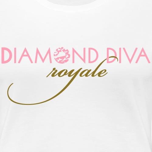 Diamond Diva Royale - Women's Premium T-Shirt