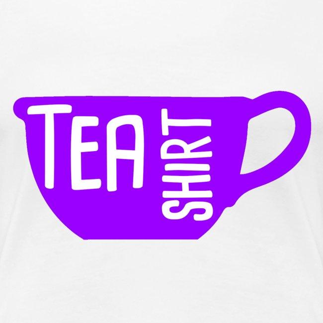 Tea Shirt Purple Power of Tea