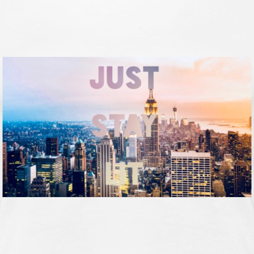 Just Stay Lit - Women's Premium T-Shirt