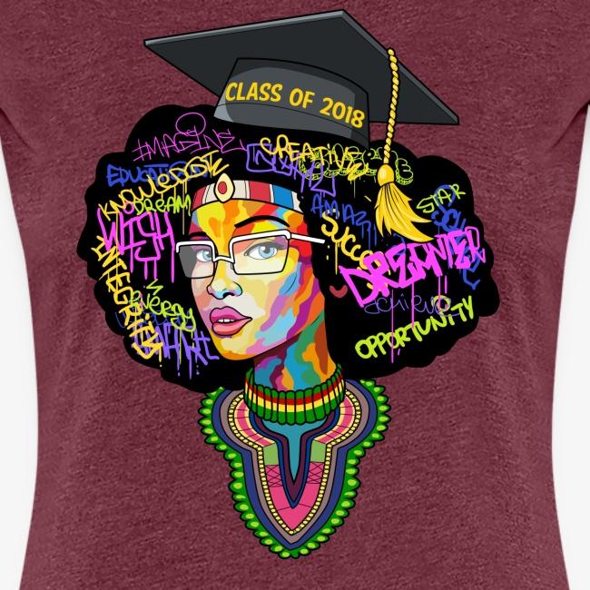 Smart Graduation Woman