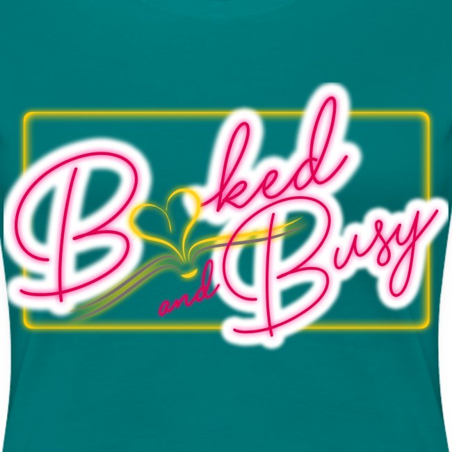 Booked & Busy Tee