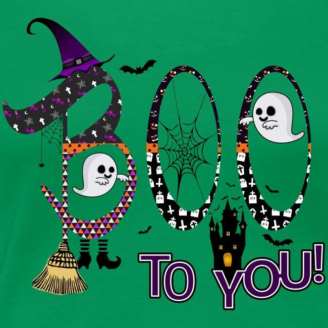 Halloween Boo To You