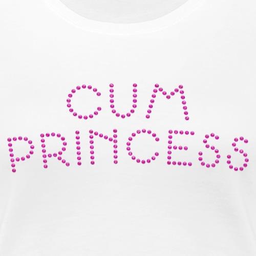 Cum Princess 1 - Women's Premium T-Shirt