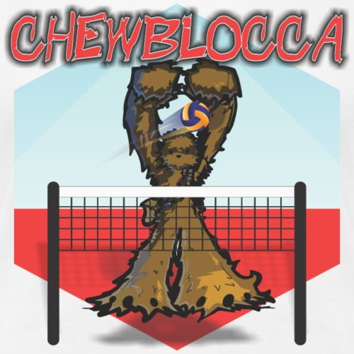 Chewblocca Volleyball Team Logo - Women's Premium T-Shirt