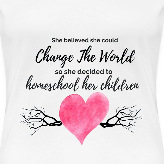 Inspirational Homeschool Shirt