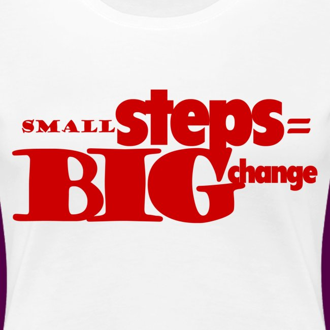 small steps red