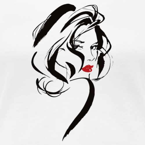 Sexy lady - Women's Premium T-Shirt