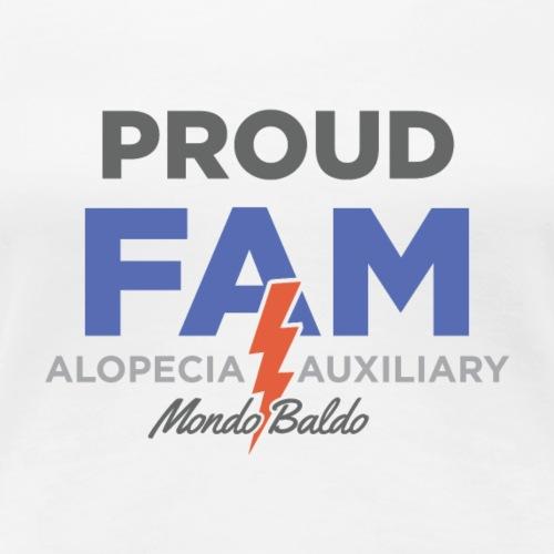 Mondo Baldo Alopecia Auxiliary - for extended Fam - Women's Premium T-Shirt