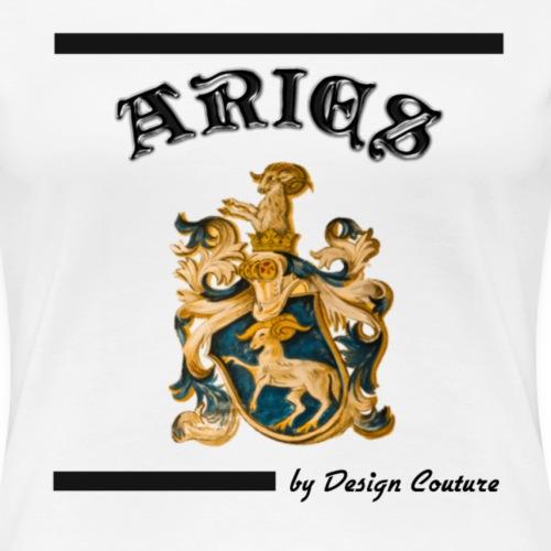 ARIES BLACK - Women's Premium T-Shirt