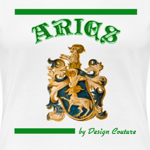 ARIES GREEN - Women's Premium T-Shirt