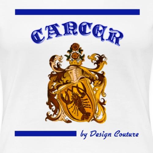 CANCER BLUE - Women's Premium T-Shirt