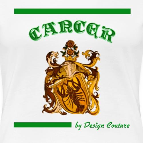 CANCER GREEN - Women's Premium T-Shirt