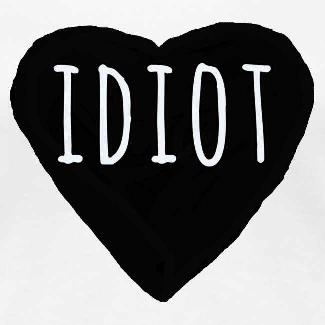 Idiot Candy Heart
