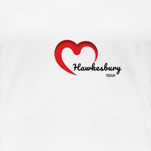 Hawkesbury Heart - Women's Premium T-Shirt