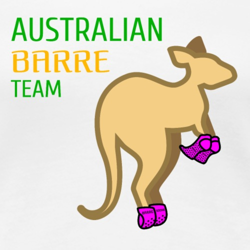 Australian Barre Team - Women's Premium T-Shirt