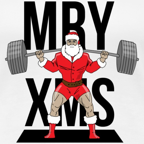 Santa lifts - Women's Premium T-Shirt