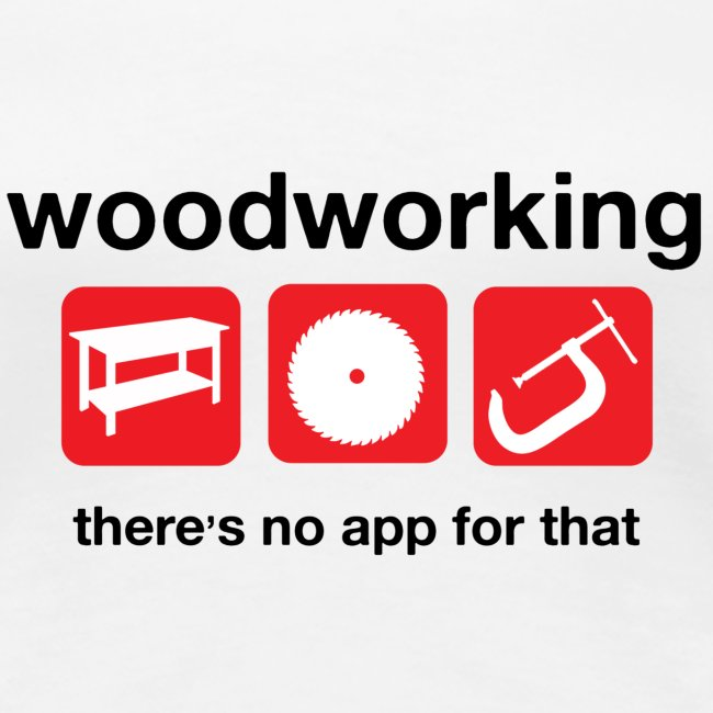 Woodworking There s no app for that