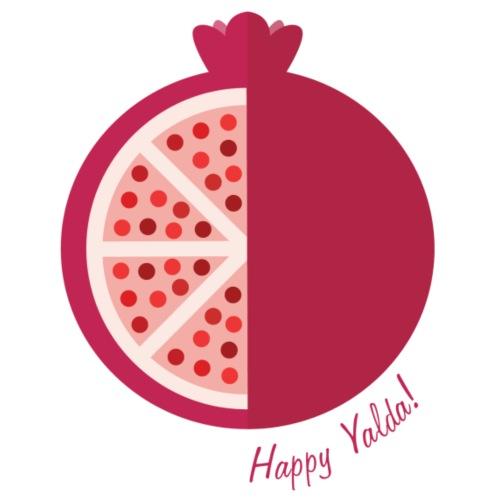 Happy yalda Pomegranate - Women's Premium T-Shirt