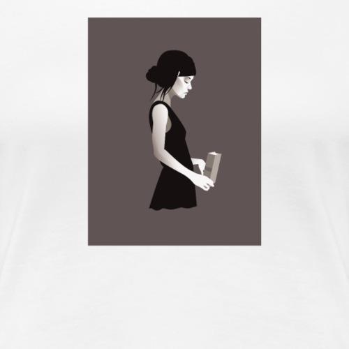 Painting Girl - Women's Premium T-Shirt