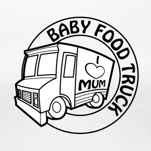 Baby Food truck - Women's Premium T-Shirt