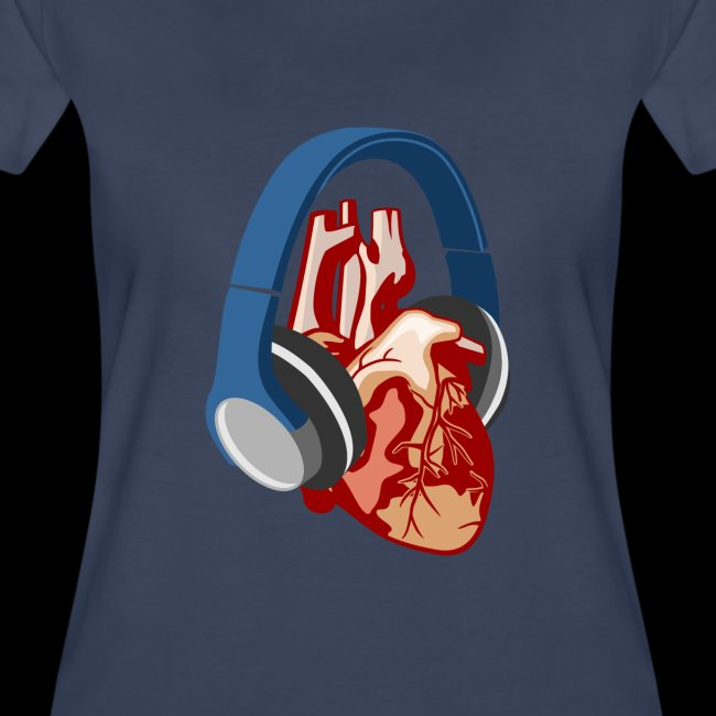 Heartbeats for Music Headphones