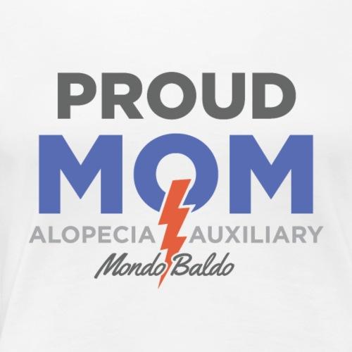 Mondo Baldo Alopecia Auxiliary - for Mom - Women's Premium T-Shirt