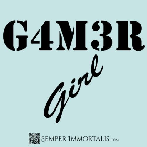 Gamer Girl (black) - Women's Premium T-Shirt